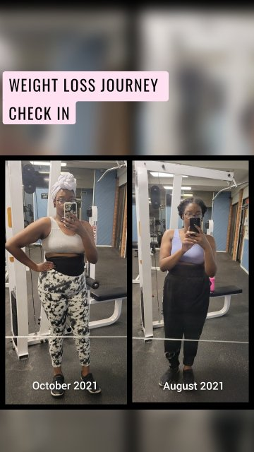 Weight Loss Journey Check In